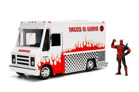Metals Die Cast Jada Toys Marvel Deadpool Taco Truck 1 24 2018 ...