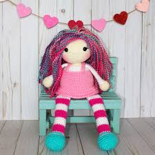The Friendly Lolly A Free Crochet Doll Pattern Thefriendlyredfoxcom