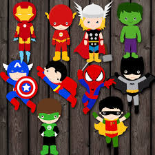 Vintage Superhero Wall Decor by Instant Download Superhero Cake Toppers Pdf 2 Sizes Table Center