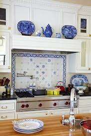 Blue And White Kitchen Decor Part