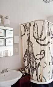 Octopus Shabby Chic Shower Curtains Making an Octopus Shower