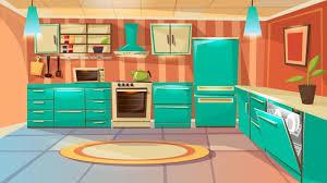 Interior Design Modern Kitchen Background 5 Stock Vektor Kitchen Images Free Vectors Stock Photos Psd