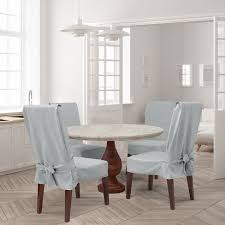 Farmhouse Basketweave Dining Room Chair Slipcover Target