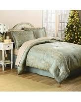 Mini Scroll Jacquard Comforter Set