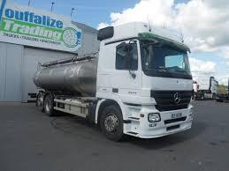 MERCEDES-BENZ Actros 2544 - Citerne à Lait/milk Tank + Retarder Feed ...