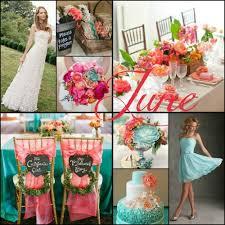 June Wedding Colors Creative Of