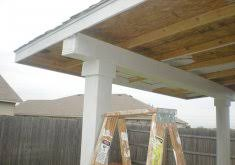 building a patio cover attached to house patric guide adirondack