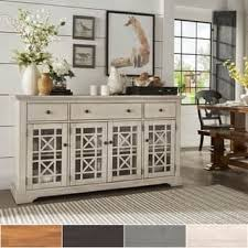 Lyndell Door Wood Buffet Server Console Table By INSPIRE Q Classic
