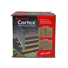 Vycor Deck Protector Or Vycor Plus by Amazon Com Fastenmaster Cortex Hidden Fasteners Trex Transcend