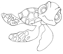 Disney Finding Nemo Friends Coloring Pages