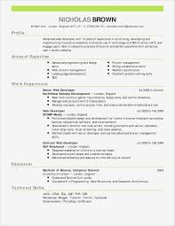 Generic Resume Template Beautiful Example A Cover Letter Ideas Of New