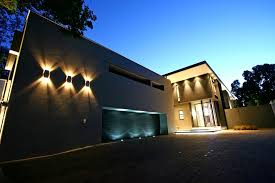 modern outside wall lights for contemporary modern house with