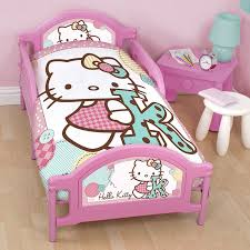 Hello Kitty Bed Set Twin by Peppa Pig U0027funfair U0027 Junior Cot Bed Duvet Cover New Official Ebay