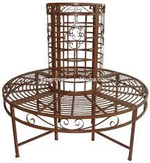 Antique Outdoor Garden Metal Full Tree Seat Round Circle Seat Patio Chair  Bench 585911 - Buy Garden Furniture Round Bench,Patio Storage ...