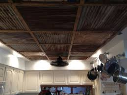 Drop Ceiling For Basement Bathroom by Tin Ceiling Steel And Wood Ceiling Posted In Walls Ceilings 1