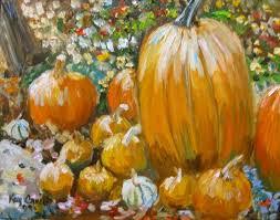 Boyd Tx Pumpkin Patch by Pumpkin Original Art Paintings Dailypainters Com