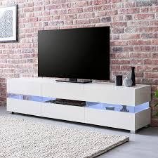 tv board mit schublade led tv unterschrank wohnzimmer