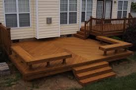 deck bench plans deck designs ideas cody house pinterest