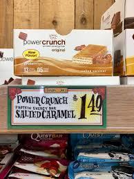 Salted Caramel Power Crunch