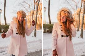 ASOS Light Pink Coat