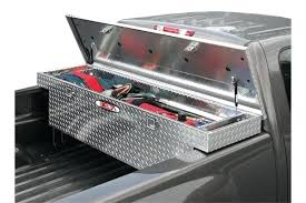 tool boxes installing truck tool box with bed liner truck tool