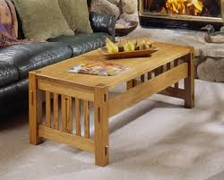 arts and crafts nesting tables woodworking plan from wood magazine