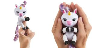 Gigi The Fingerlings Baby Unicorn Responds To Noise And Motion With Blinking Eyes Head Turns Your Kiddos Will Get Different Reactions If They Pet Her