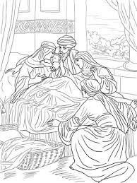 Click To See Printable Version Of The Birth John Baptist Coloring Page