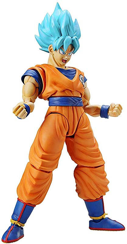Dragon Ball Super Super Saiyan Blue Goku Figure - 8.6""