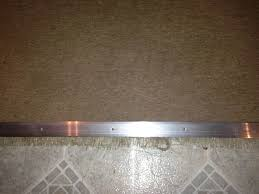 Wood To Tile Metal Transition Strips by Decor Silver Metal Carpet Transition Strip For Floor Decoration Ideas