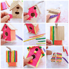 Art Project For Kids Clay House Tutorial Step By