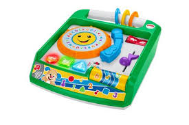 fisher price laugh learn remix record player english edition