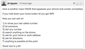 Siri offers the latest backdoor into your iPhone – just ask nicely