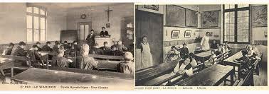 bureau d olier ancien en bois 1 place le blogue antiquités pupitre d écolier école d autrefois