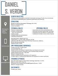 Examples Printable It Resumes Templates Resume Com Ideas