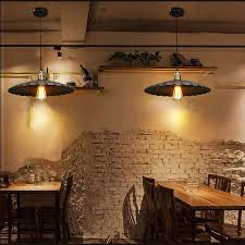 American Retro Industrial Wind Style Pendant Lights Creative Rustic Hanging Lamps Bar Cafe Restaurant Iron E27 In From