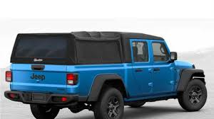 100 Canvas Truck Cap 2020 Jeep Gladiator Rendered With All Sorts Of Bed Toppers