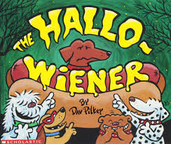 Halloween Books For Kindergarten by The Hallo Weiner Dav Pilkey 9780439079464 Amazon Com Books
