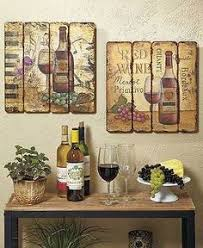 new 12 wall clock in box chateau wine grapes vineyard tuscan