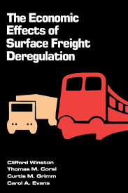 100 Trucking Deregulation Amazoncom The Economic Effects Of Surface Freight