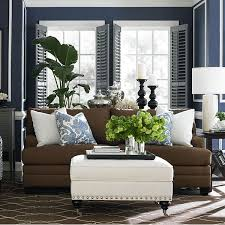 Brown Sofa Decorating Living Room Ideas by I Love The Gray Walls Brown Couch And Teal Accents Picmia
