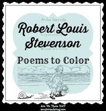 FREE Robert Louis Stevenson Poems To Color