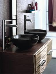 vanity ronde vasque à poser allia en céramique de 26 à 38 centimètres
