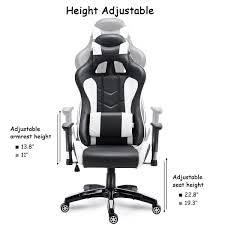 Costway High Back Executive Racing Reclining Gaming Chair Swivel PU Leather  Office Chair Merax Ergonomic High Back Racing Style Recling Office Chair Adjustable Rotating Lift Pu Leather Computer Gaming Folding Heightadjustable Bench Architonic Recomended Product Songmics Mesh 247 400 Lb Black Fabric With Lumbar Knob Details About Swivel Brown Faux Executive Hcom Seat Desk Chairs Height Armchair New Adjustable Desks And Workstations Linear Actuators Us 107 33 Offergonomic Support Thick Cushion On Aliexpress With Foldable Armrest Head The 14 Best Of 2019 Gear Patrol Chair Mega Discount A06f6