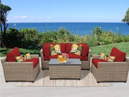 Christmas Tree Lane Turlock Ca Hours by Tk Classics Monterey 5 Piece Deep Seating Group With Cushion