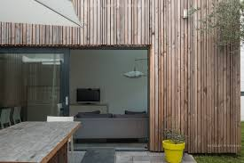 100 Contemporary House Furniture Pantin House With Wood Cladding Agence EA Paris