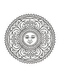 Awesome Collection Of Printable Mystical Mandala Coloring Book Pdf For Template