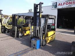 100 Yale Lift Trucks Used Erp18vx Electric Forklift Trucks Year 2014 For Sale
