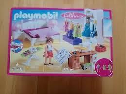 spielzeug puppenhaus badezimmer playmobil dollhouse 2er set