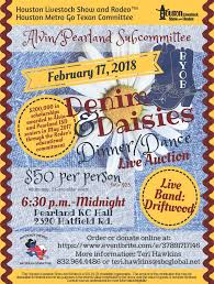 Denim Daisies Dinner Dance Pearland Texas Convention Visitors
